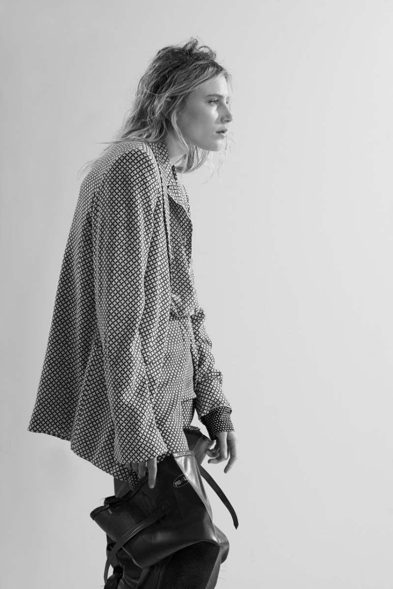 Dree Hemingway Keeps it Messy for Interview Russia August 2012, Lensed by Eric Guillemain