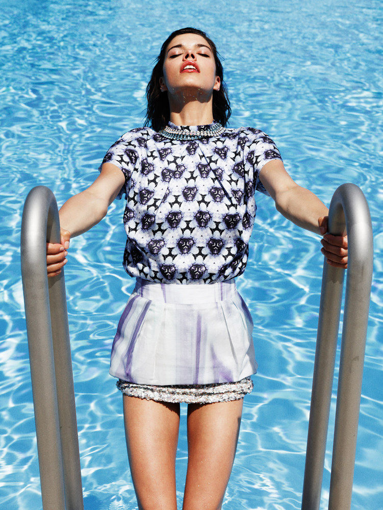 Eva Doll Makes a Splash in Nadine Ottawa's Shoot for Friday Magazine