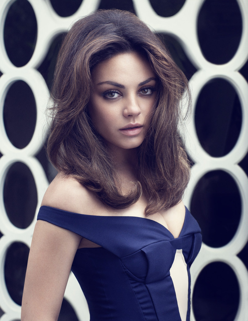 Mila Kunis is 60s Glam in Elle UK's August Cover Shoot by Doug Inglish