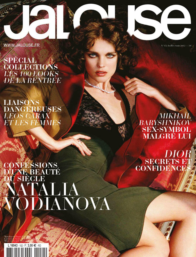 Natalia Vodianova Plays Pin-Up for Jalouse July/August 2012
