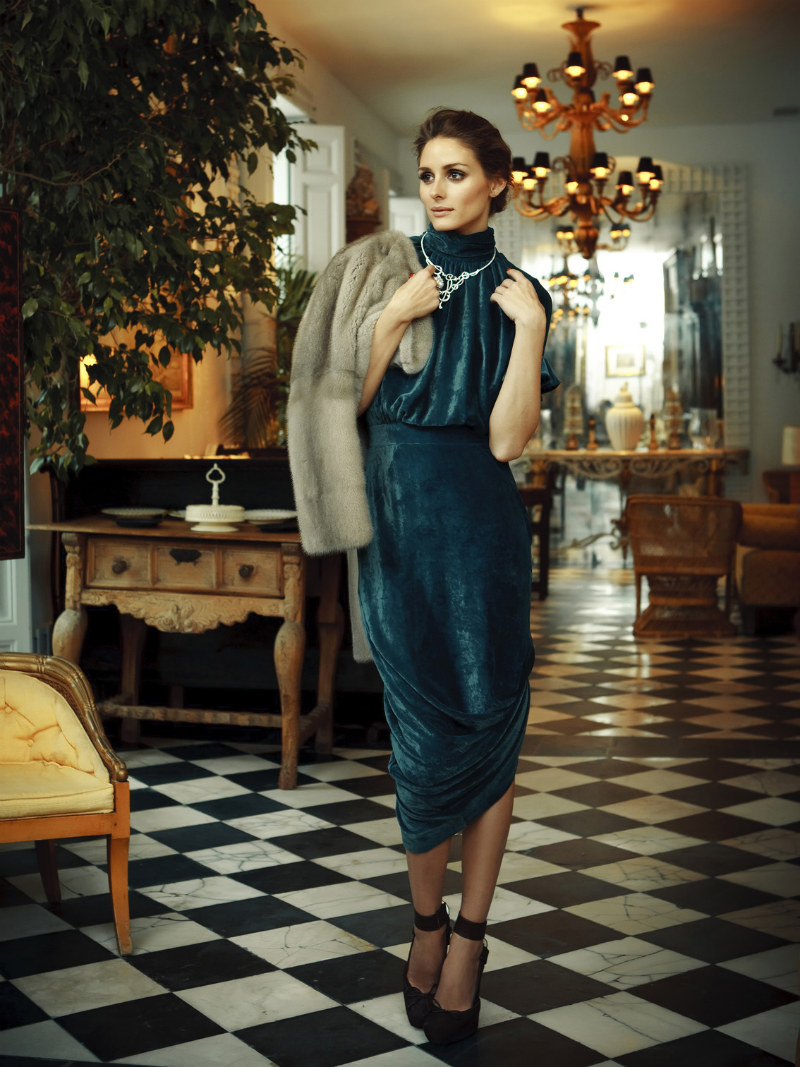 Olivia Palermo Graces the Cover of Tatler Russia August 2012 by Santiago Esteban