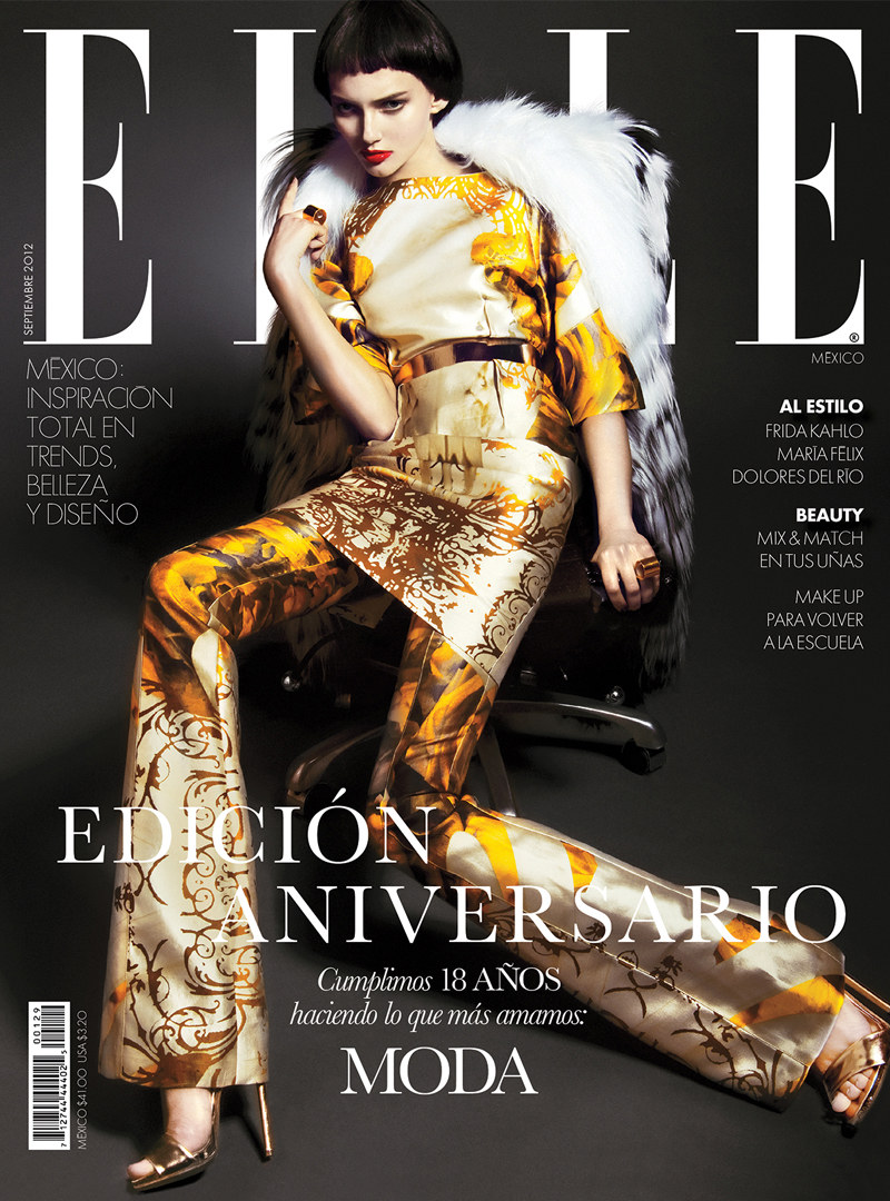 Elle Mexico Celebrates 18 Years of Elegant Style, Lensed by Kevin Sinclair