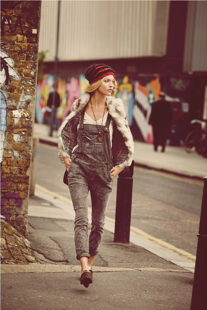 Free People Goes for the Stylish It-Girl in its September Catalogue