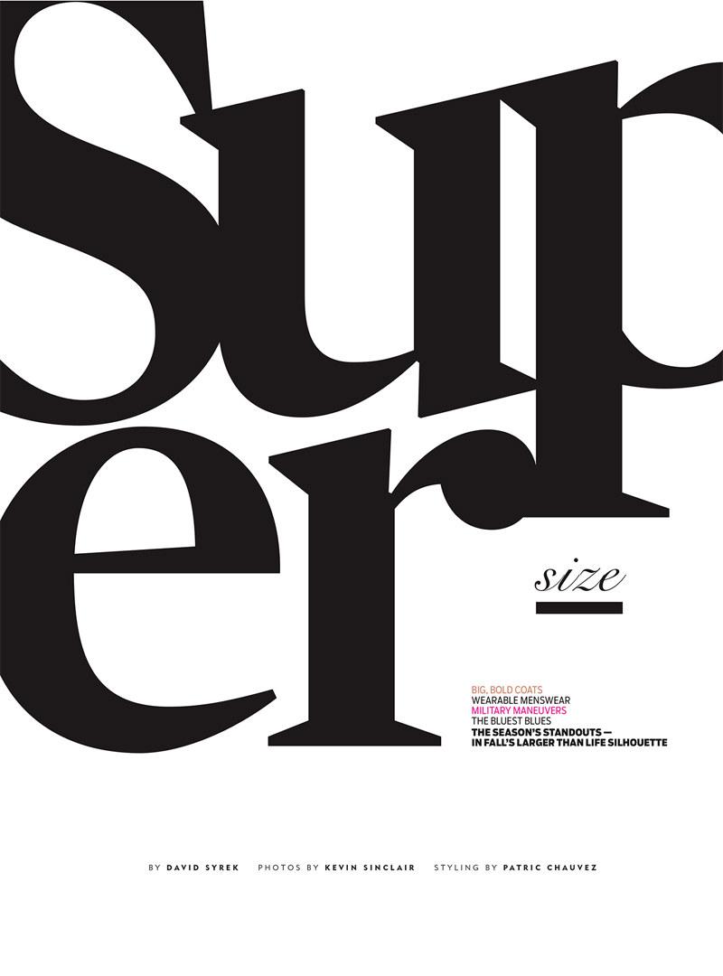 Georgina Stojiljkovic Covers the September Issue of Chicago Tribune by Kevin Sinclair