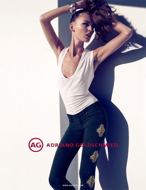 Camila Akrans Lenses Ali Stephens for AG Jeans' Fall 2012 Campaign