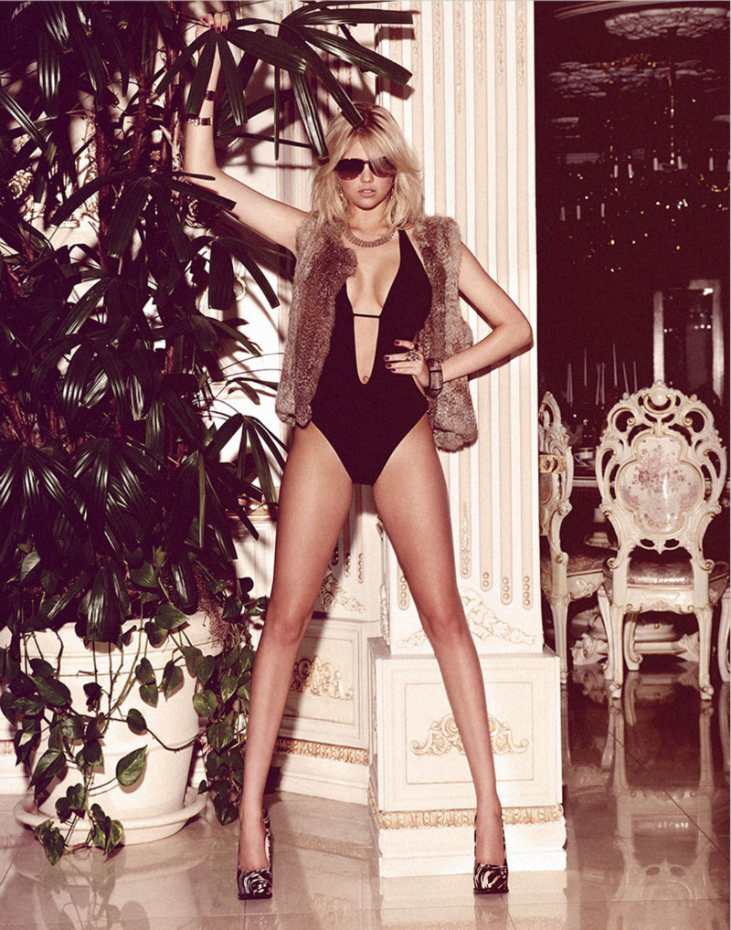 Kate Upton is Sexy in Animal Print for Contributor Magazine