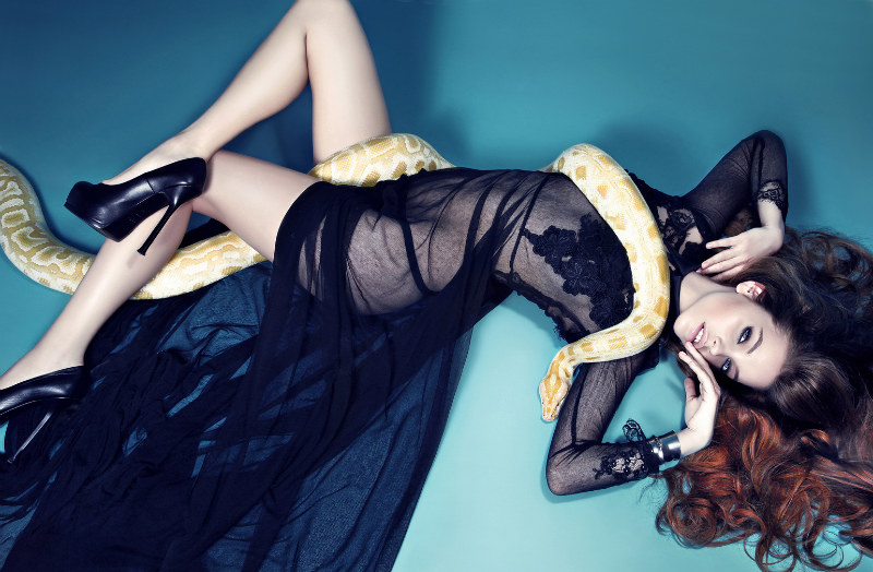 Barbara Palvin Goes Glam for Fashion Issue Summer 2012