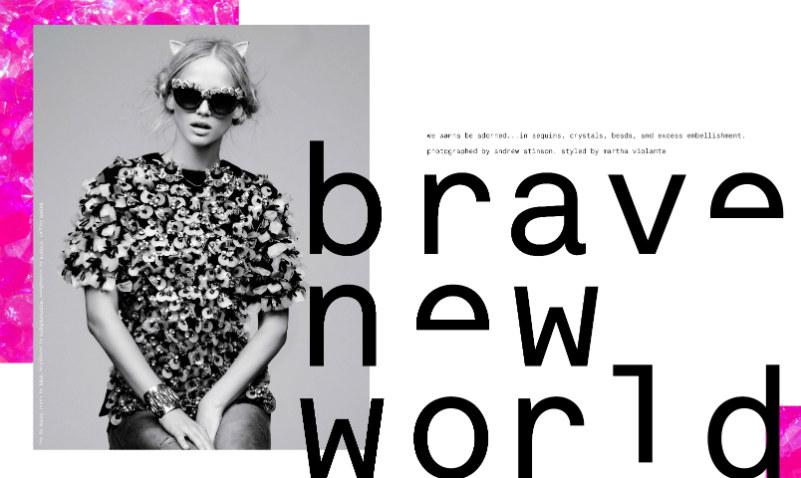 Andrew Stinson Captures Ultra Embellished Style for Nylon September 2012