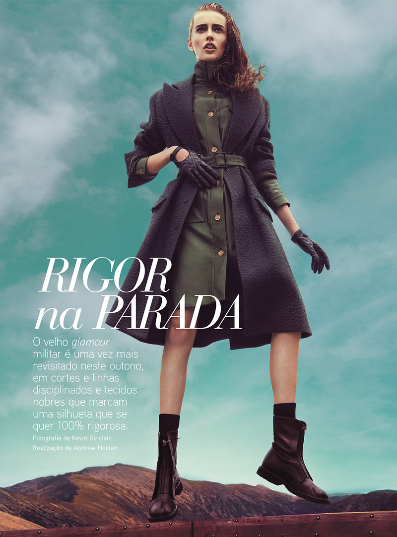 Kevin Sinclair Lenses Military Style for Vogue Portugal's September Issue