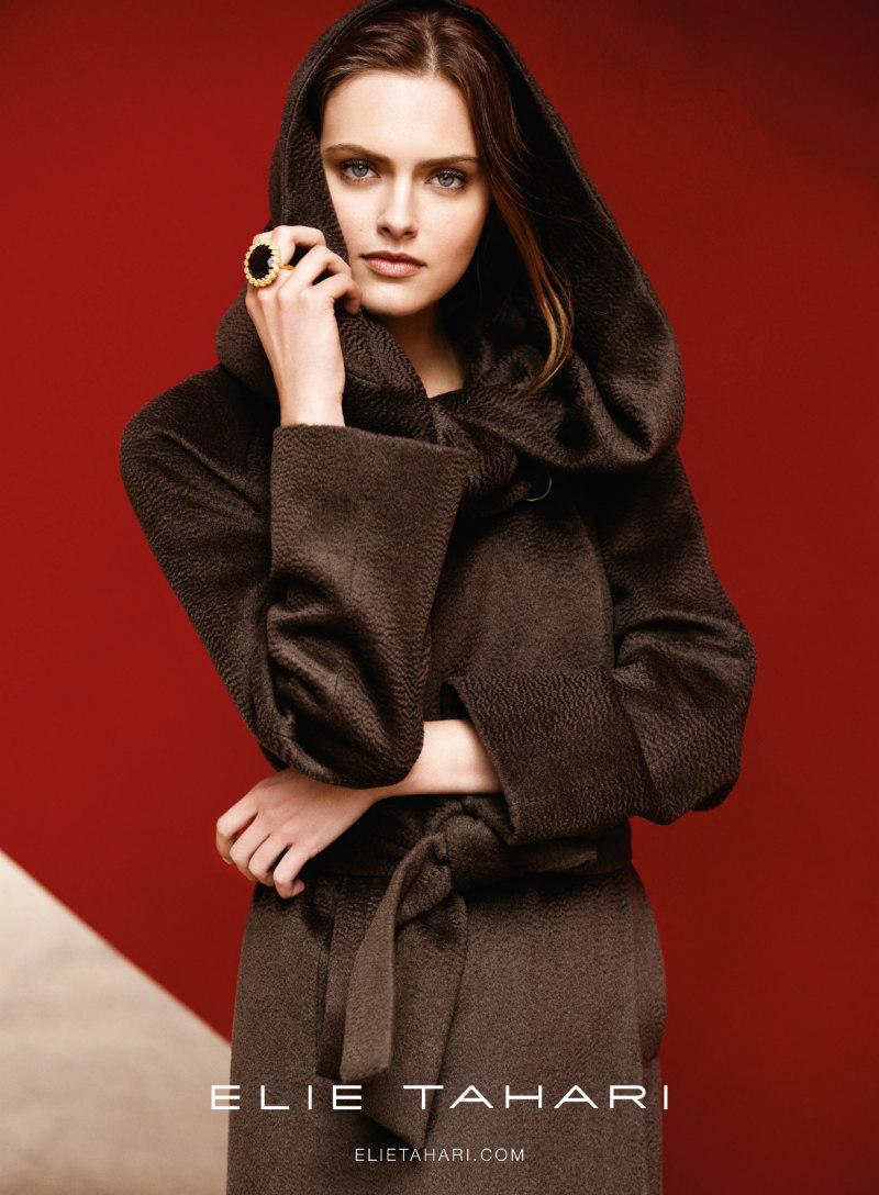 Diego Uchitel Lenses Zuzana Gregorova in Understated Elegance for the Elie Tahari Fall 2012 Campaign