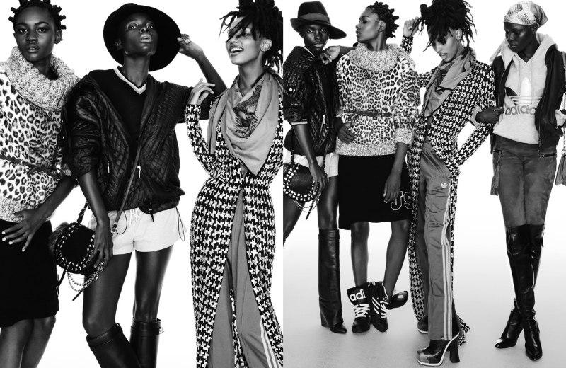 Greg Kadel Lenses Vivid Fall Fashion for Vogue Germany September 2012