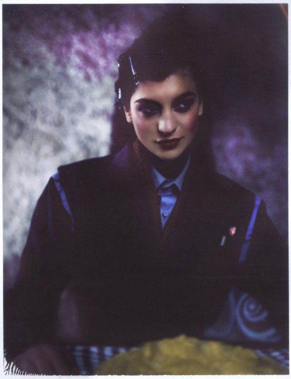 Klara Boscic is a Vintage Beauty for Lurve September 2012, Lensed by Peppe Tortora