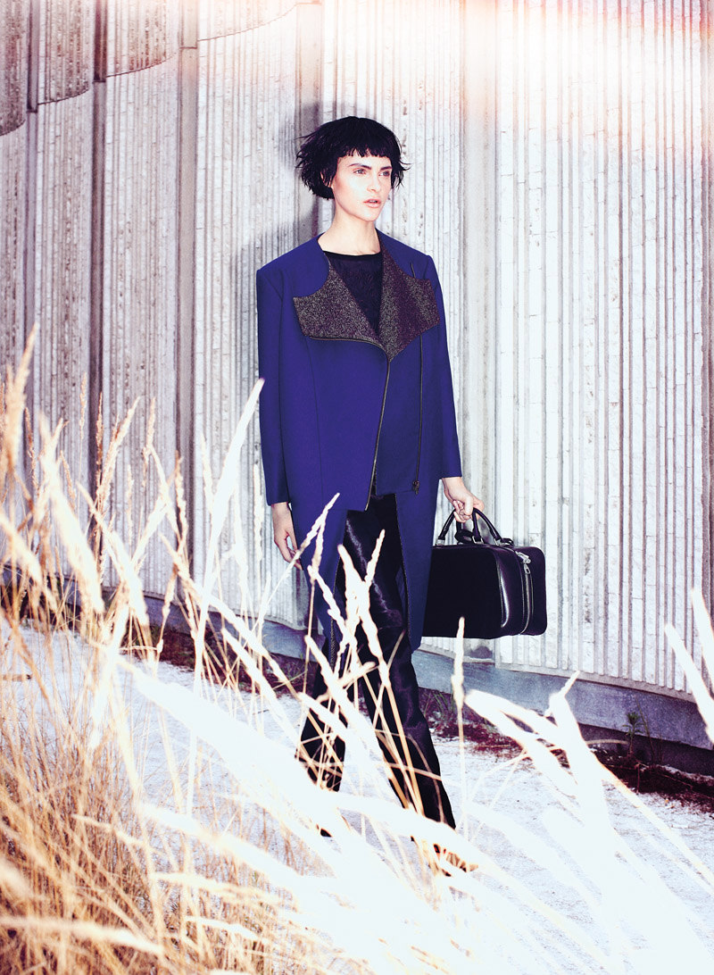 Chris Nicholls Captures the Season's Bold Cuts for Flare October 2012