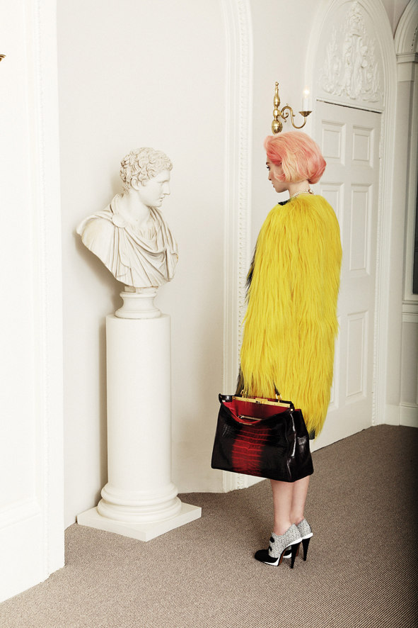 Rose Smith is Lady Fendi for Citizen K International by Alice Rosati