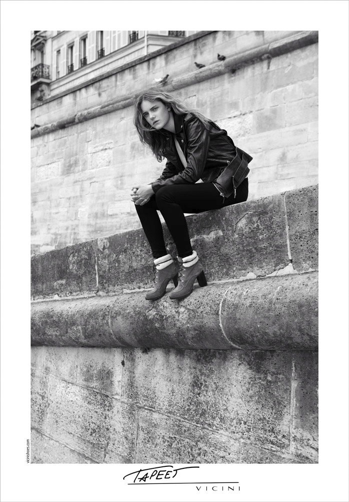 Hugues Laurent Takes the Vicini Fall 2012 Campaign to Paris with Imogen Morris Clarke