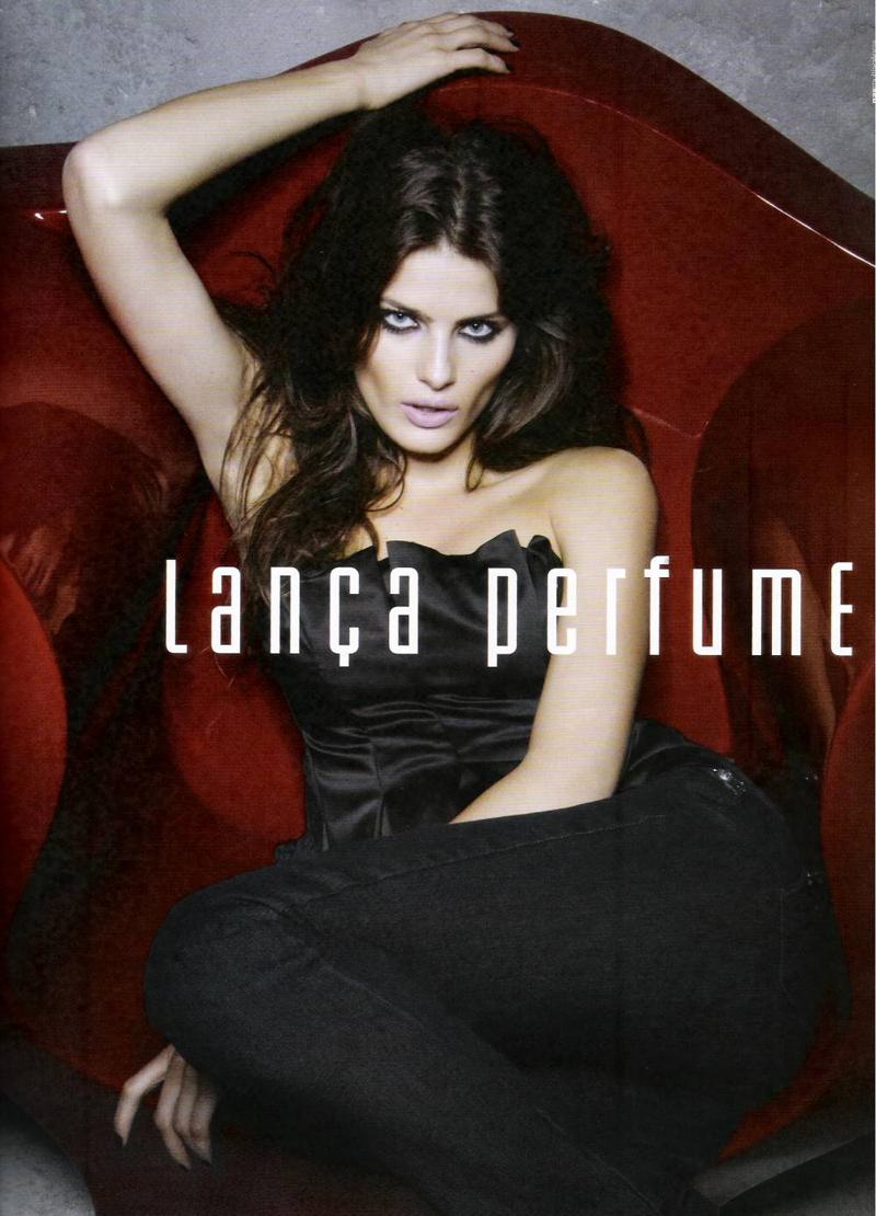 Isabeli Fontana for Lança Perfume