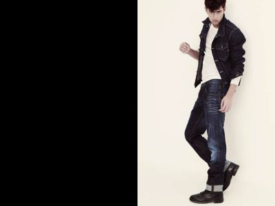 Giedre Dukauskaite & Sean O'Pry | Pepe Jeans Spring 2009 Campaign