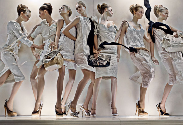 Prada Spring/Summer 2009 by Steven Meisel