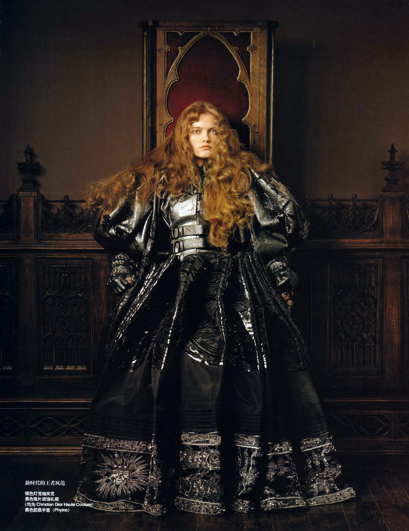 Queen of the Renaissance | Vlada Roslyakova by Pierluigi Maco