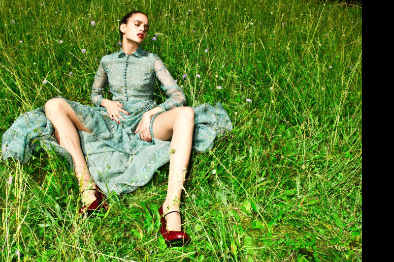 Diana Sar by Thierno Sy & Raphael Delorme for L'Officiel Ukraine