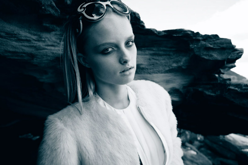 Portrait   Eva by David K. Shields