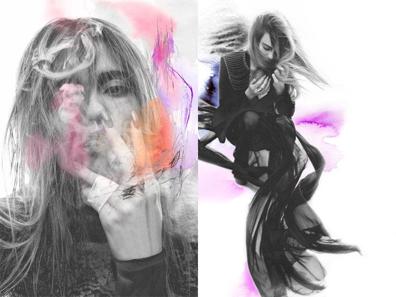 Sky Ferreira by Hugh Lippe for StyleCaster