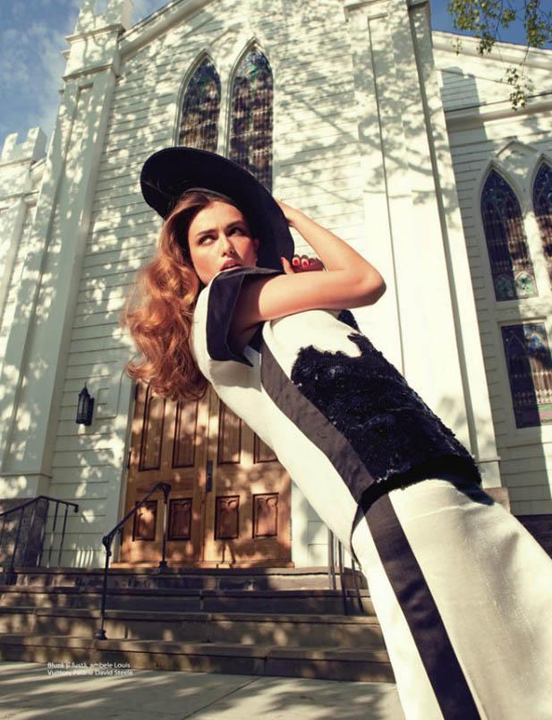 Andreea Diaconu by Karíne Basilio for One Magazine