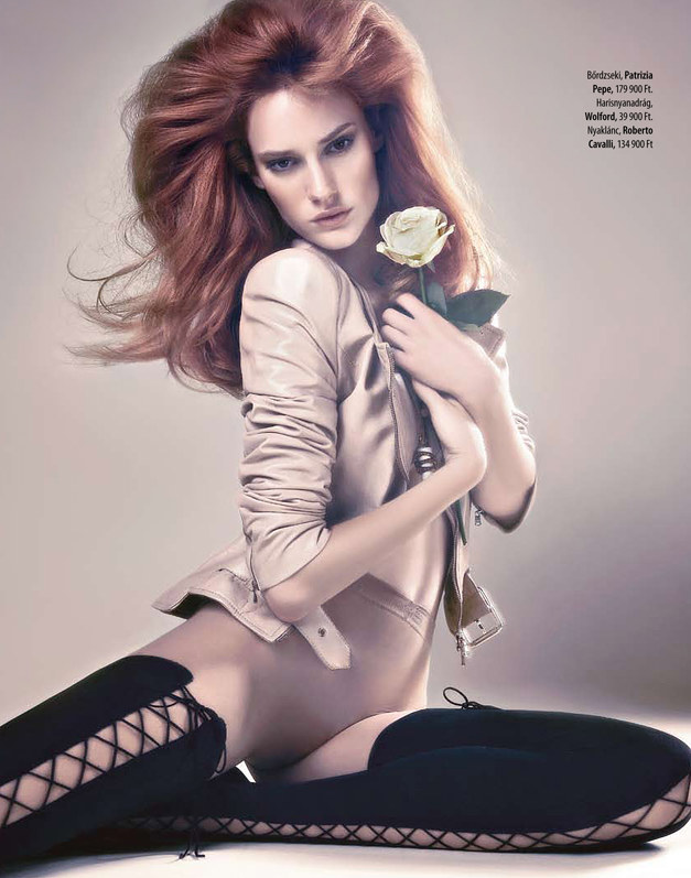 Csilla by Vince Barati for Marie Claire Hungary August 2011