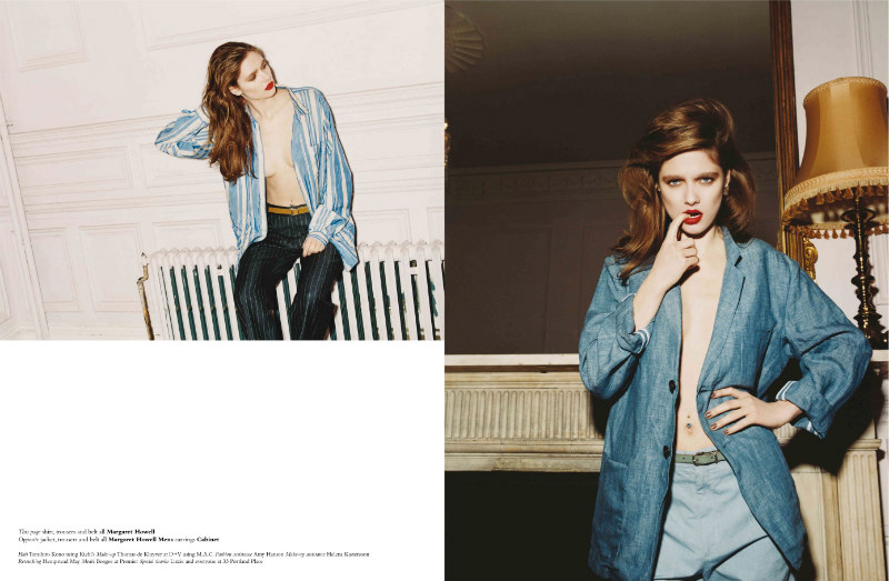 Beegee Margenyte by Greta Ilieva for Exit  S/S 2011