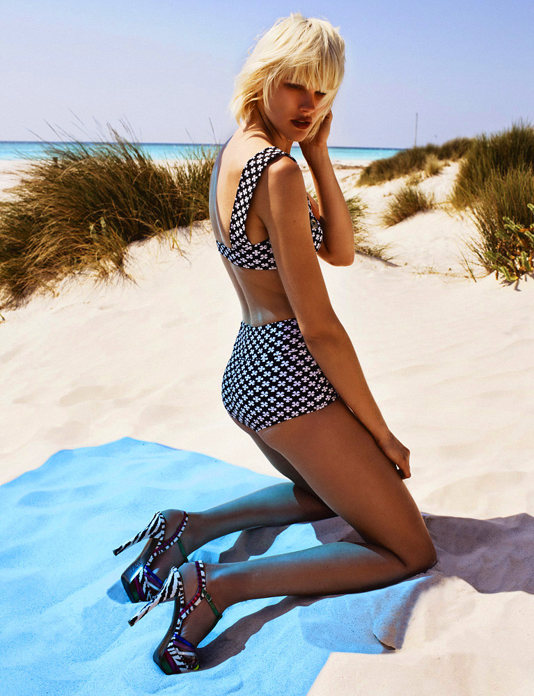 Tiffany by Zoltan Tombor for Grazia Italy July 2011