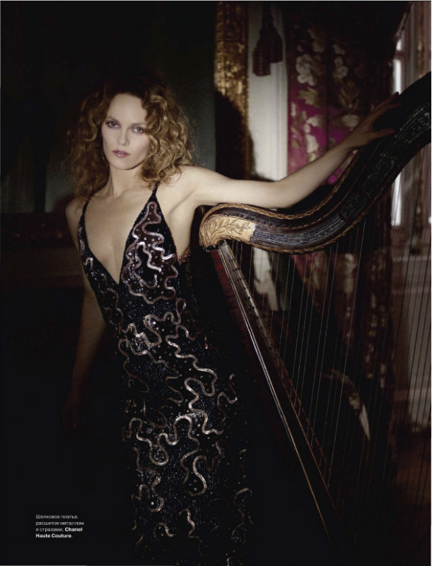 Vanessa Paradis in Chanel for Tatler Russia July 2011