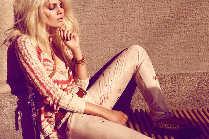 Christine Loekkeboe by Rickard Sund for Styleby #3 Summer 2011