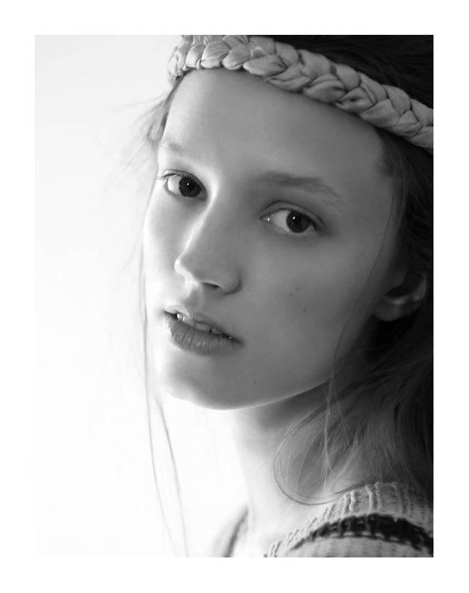 Eva Helene Skarvig by Ruben Vega for Vanidad Summer 2011