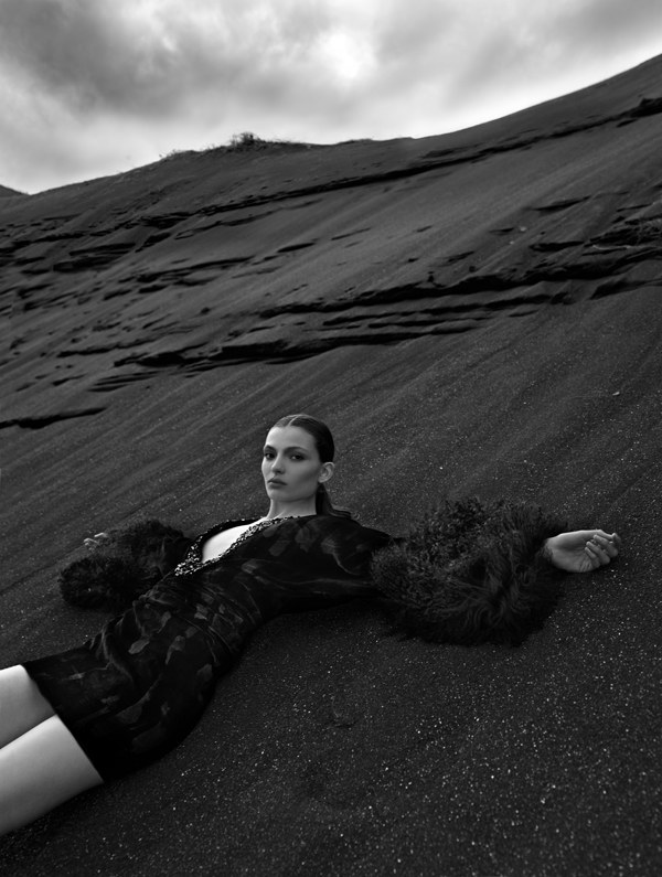 Carola Remer by Kacper Kasprzyk for Bergdorf Goodman Fall 2011