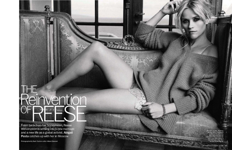Reese Witherspoon by Tesh for Marie Claire US October 2011