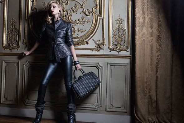 Campaign | Angela Lindvall for Trussardi 1911 Accessories Fall 2009