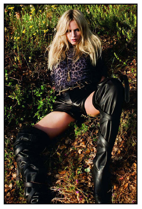 Natasha Poly is A Blonde Bombshell for French Vogue