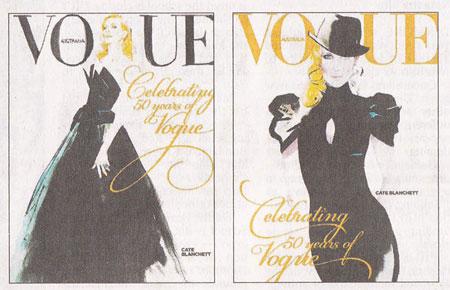 Vogue Australia September 2009 - Cate Blanchett by David Downton