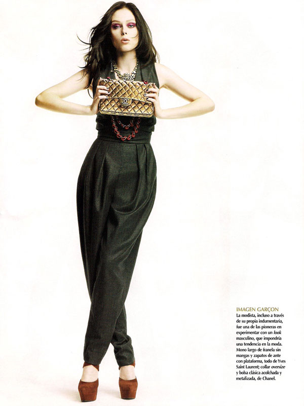 Oda a Coco | Coco Rocha in Vogue Mexico September
