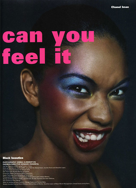 Can You Feel It - More From i-D Pre-Fall 2009