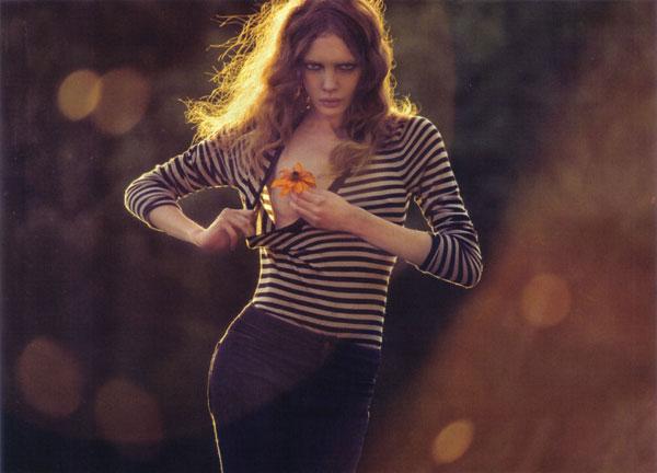 Sophie Srej by David Bellemére for Marie Claire Italia September