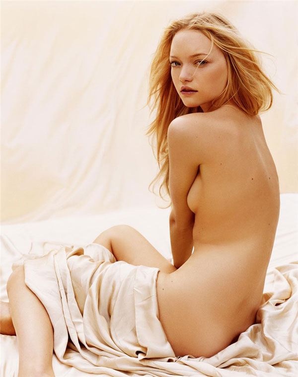Morning Beauty | Gemma Ward by Michael Thompson