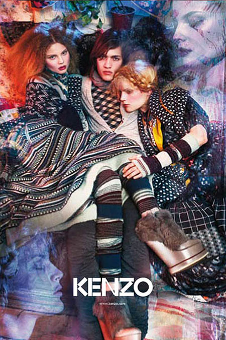 f8082129779 Campaign Preview | Kenzo Fall 2009 by Mario Sorrenti | Fashion Gone ...
