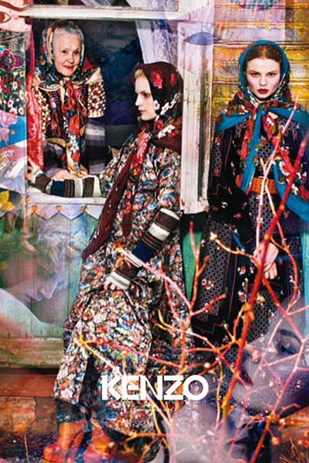 Campaign Preview   Kenzo Fall 2009 by Mario Sorrenti
