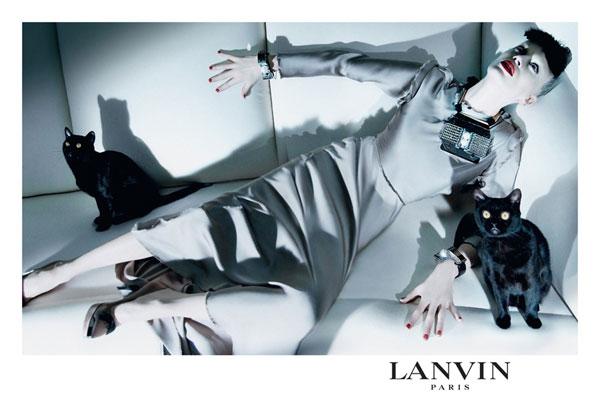 Campaign | Lanvin Fall 2009 by Steven Meisel