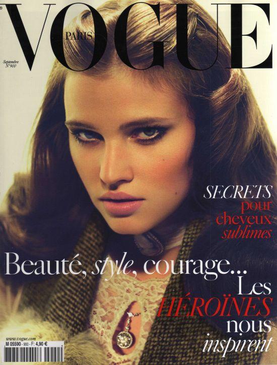 Vogue Paris September 2009 - Lara Stone by Mert & Marcus
