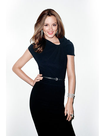 More Leighton Meester for Harper's Bazaar US