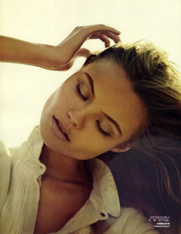 Magdalena Frackowiak in Vogue China September by Sebastian Kim
