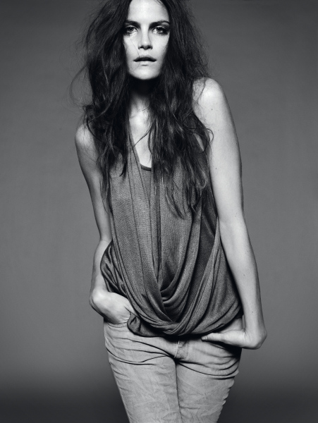 Morning Beauty | Missy Rayder by Jan Welters