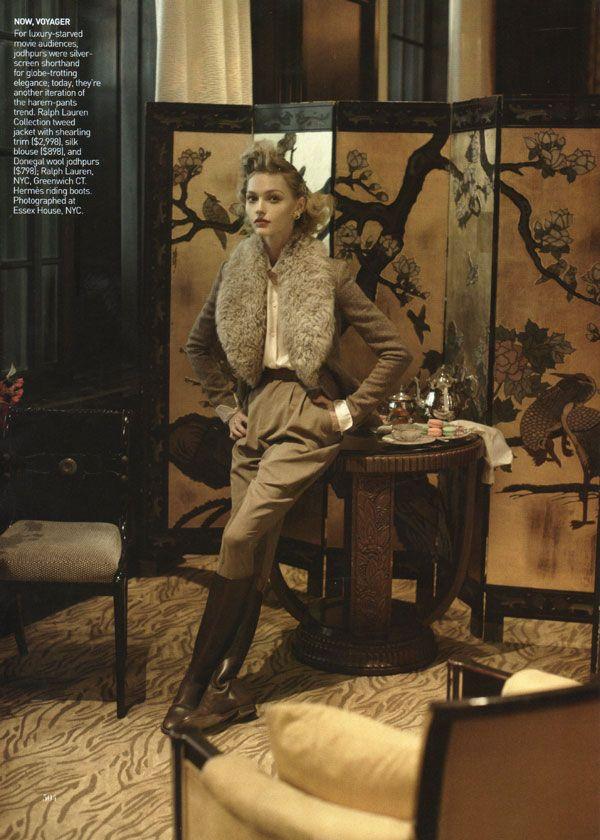 In the Mood - Steven Meisel for Vogue US September